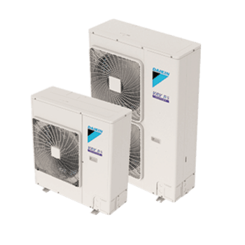 Daikin VRV IV-S Series outdoor multi-zone ductless unit.