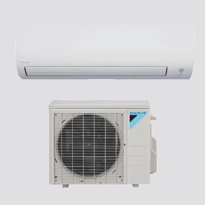 Daikin 19 Series Wall Mount single-zone heat pump.