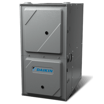 Daikin DC96VE gas furnace.