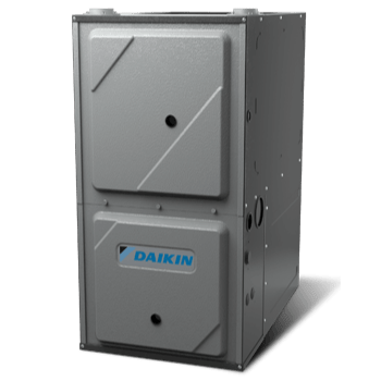 Daikin DC97MC gas furnace.