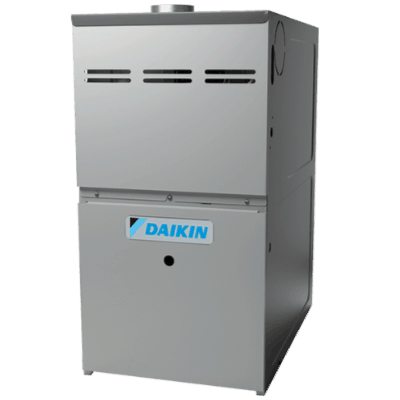 Daikin DM80HE gas furnace.