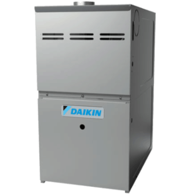 Daikin DM80HS gas furnace.