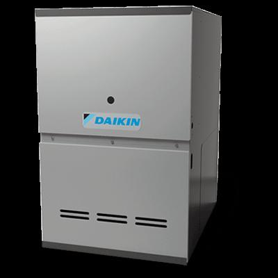 Daikin DM80SS gas furnace.