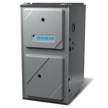 Daikin DM96VE gas furnace.