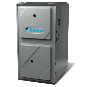 Daikin DM97MC gas furnace.