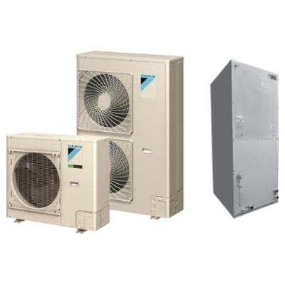 Daikin SkyAir Inverter Ducted whole house heat pump.