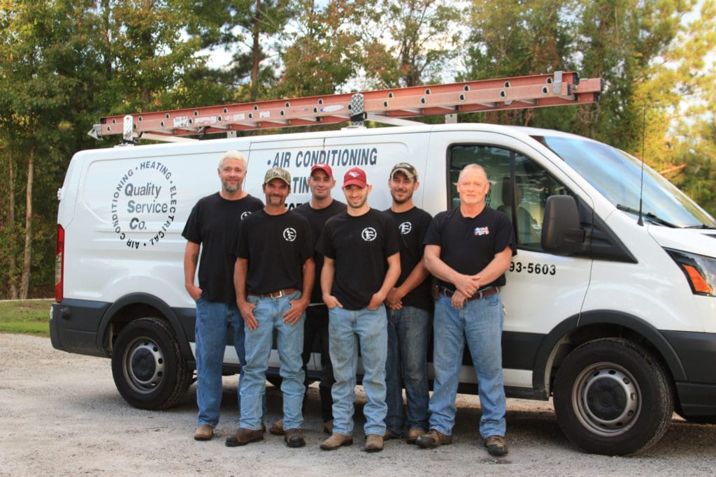 QSC Installation Technicians.