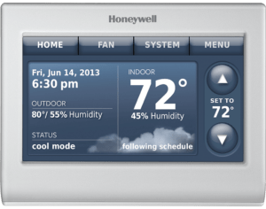 Honeywell 9000 Wi-Fi Thermostat.