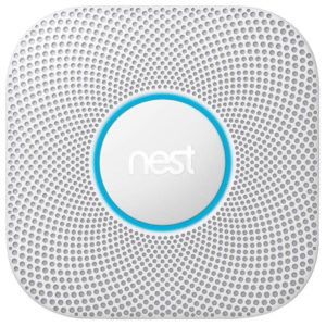 Nest Smoke and Carbon Monoxide (CO) Sensor.