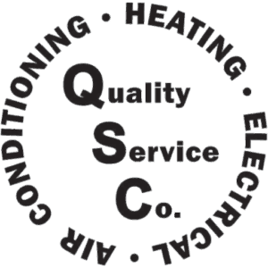 Quality Service Company. Air conditioning, heating, electrical.