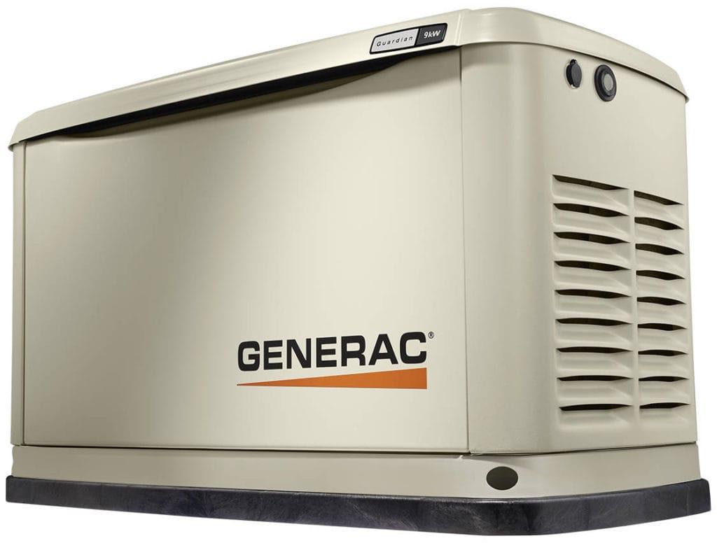 Generac Guardian 9kW.