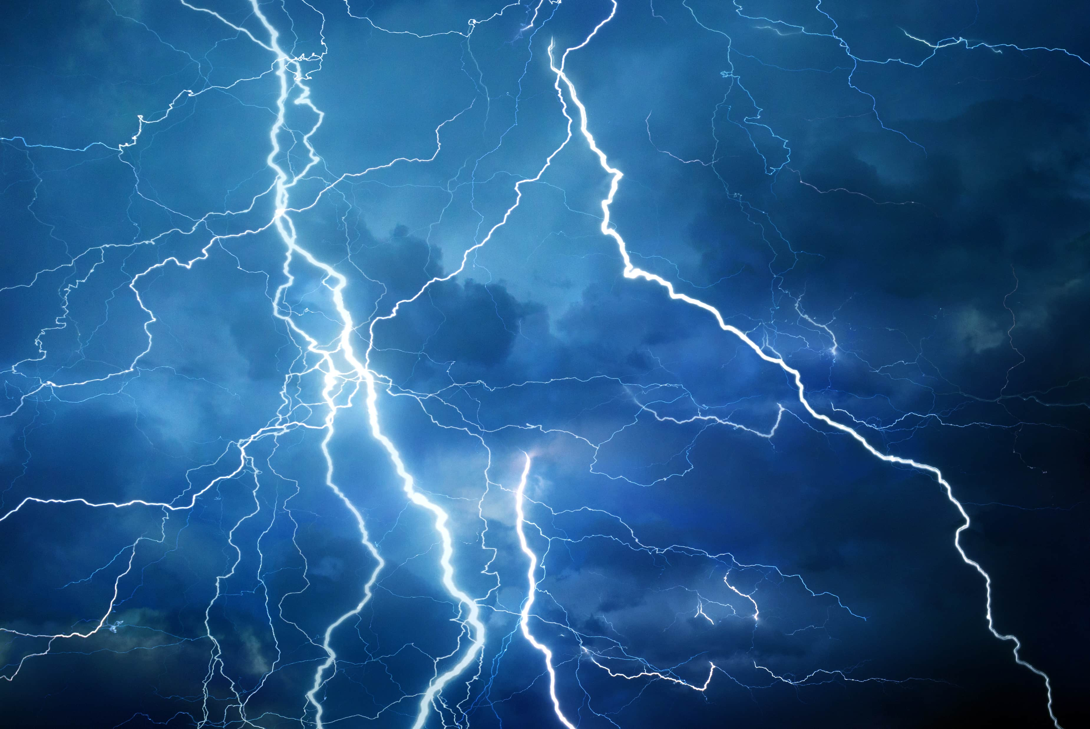 lightening during storm affecting air conditioner