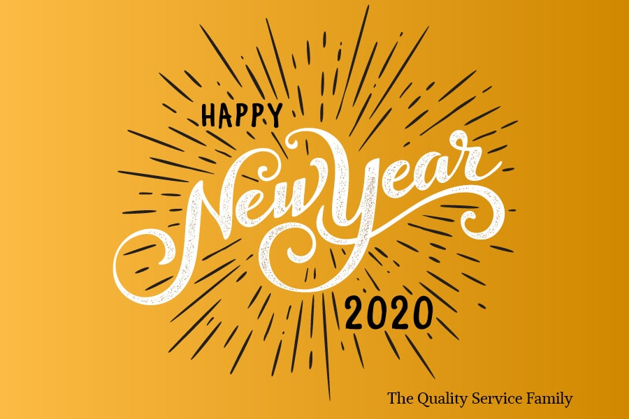 Happy new year from Quality Service Company.